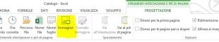 Cliccate sull'icona Immagine per aprice la finestra di dialogo Inserisci immagini
