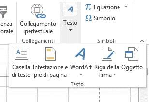 Cliccate sull'icona WordArt per selezionare uno stile