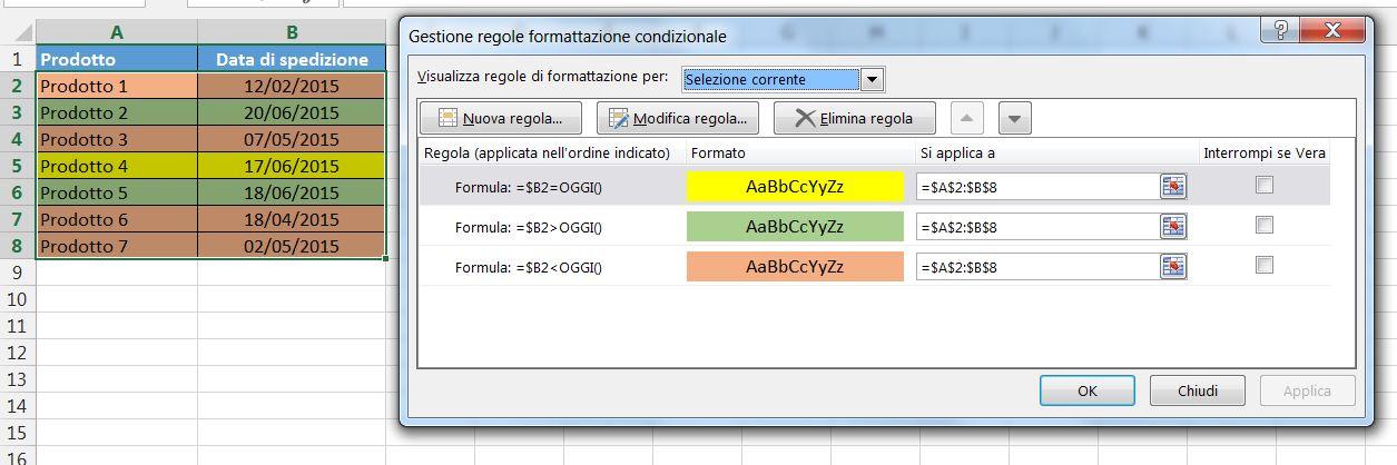 Excel Calendario Automatico.Come Usare La Formattazione Condizionale Di Excel Parte 5