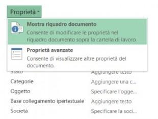 Scegliete Mostra riquadro documento per visualizzare il riquadro
