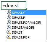 Le funzioni di Excel per la deviazione standard
