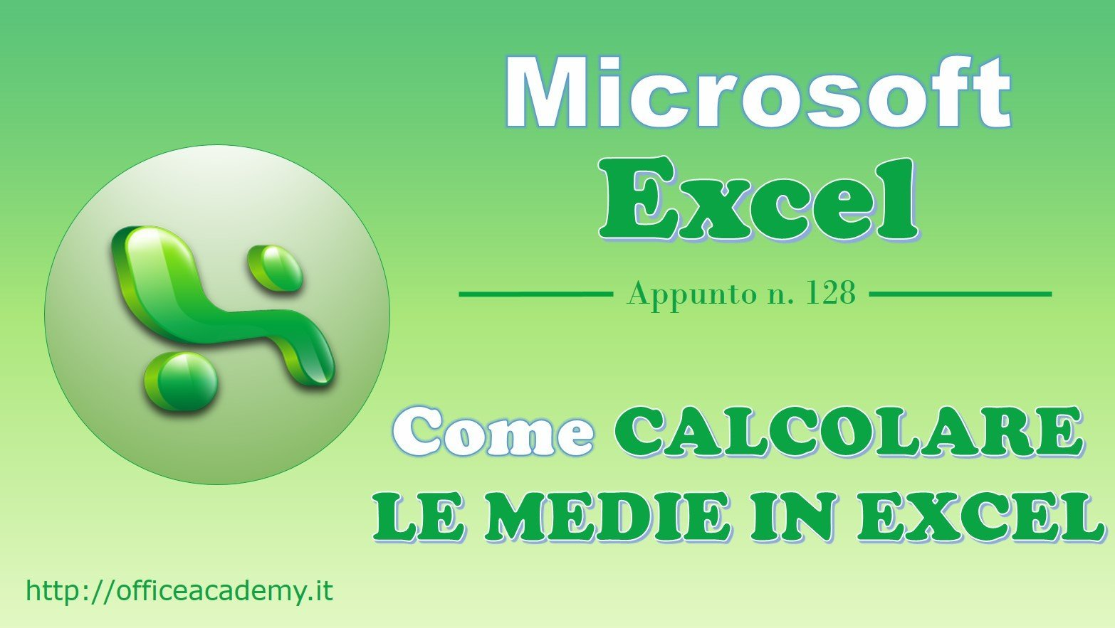 Come calcolare le medie in Excel