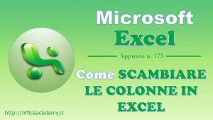 come-scambiare-le-colonne-in-excel
