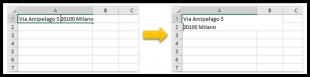Come andare a capo in una cella di Excel