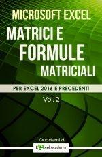 Matrici e Formule matriciali