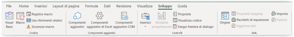 #Excel - Scheda Sviluppo in Excel: come aggiungerla, utilizzarla e rimuoverla 2